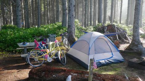 Bike-Camping